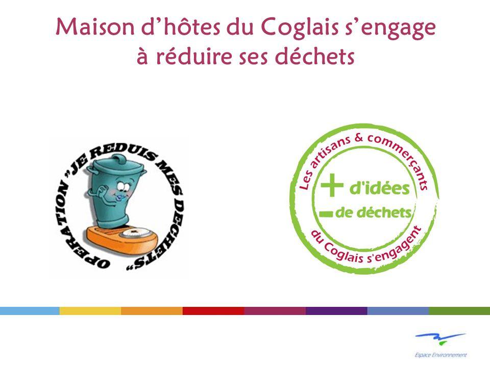 Maison dhôtes du Coglais sengage à réduire ses déchets