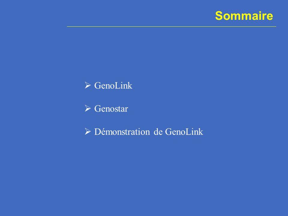 GenoLink .Système de représentation de données bio.