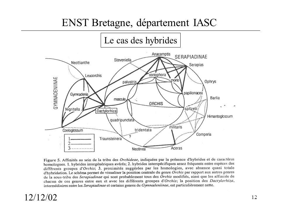 ENST Bretagne, département IASC 12/12/02 12 Le cas des hybrides