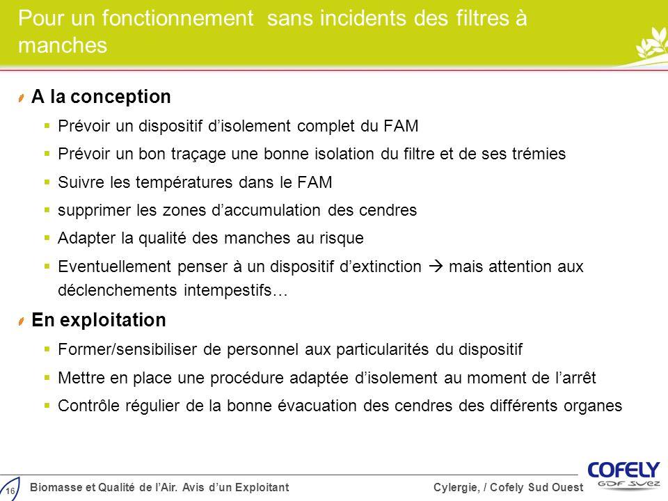 16 Biomasse et Qualité de lAir.