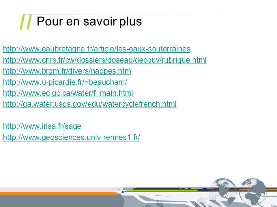 http://www.eaubretagne.fr/article/les-eaux-souterraines http://www.cnrs.fr/cw/dossiers/doseau/decouv/rubrique.html http://www.brgm.fr/divers/nappes.ht