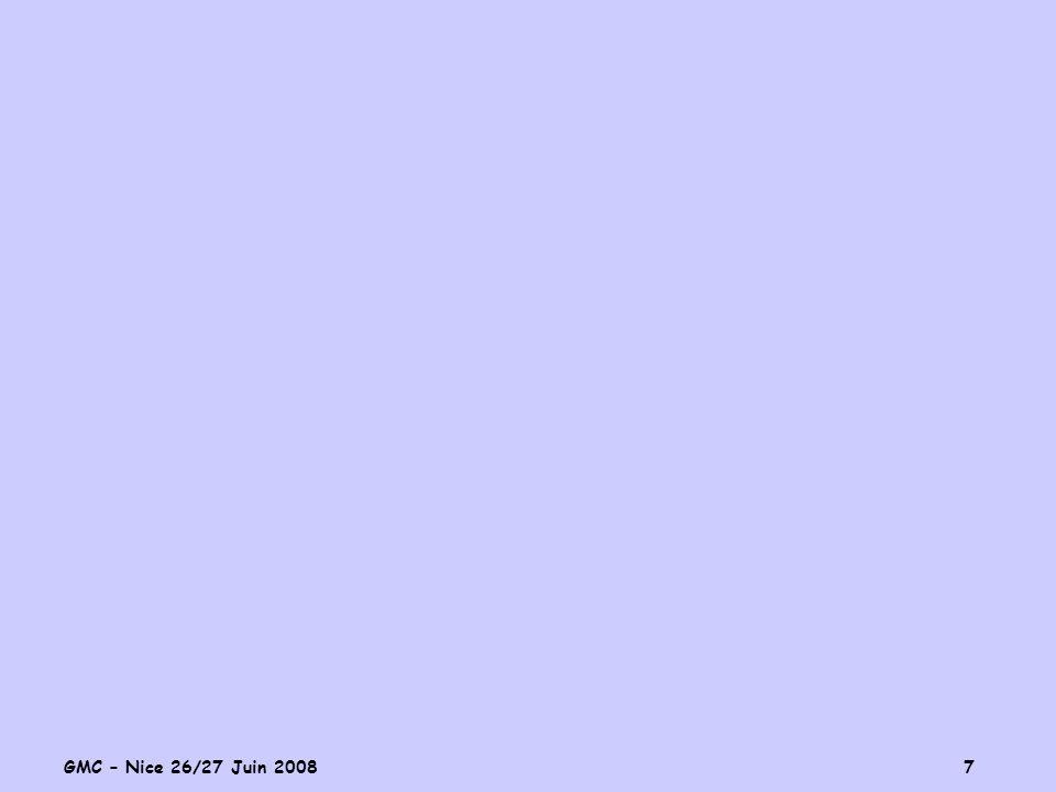 GMC – Nice 26/27 Juin 2008 7