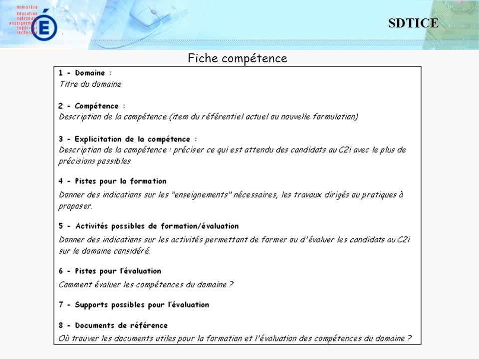 10 SDTICE Fiche compétence
