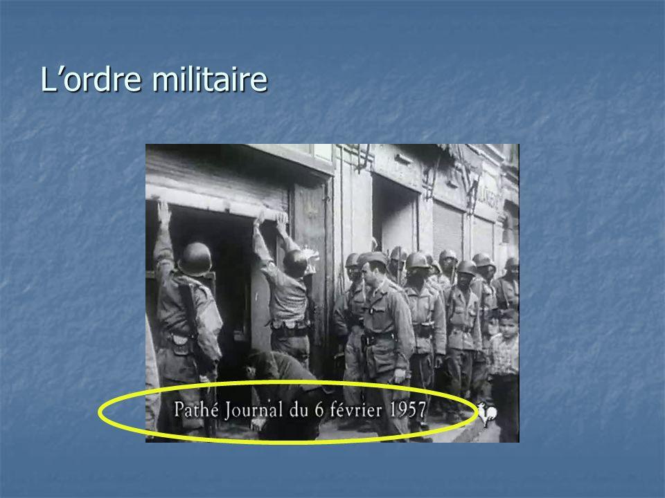 Le 30 septembre 1956, avec lattentat du Milk Bar qui fait 8 victimes, le FLN frappe en plein de cœur de Bab-el-Oued, le quartier européen dAlger.