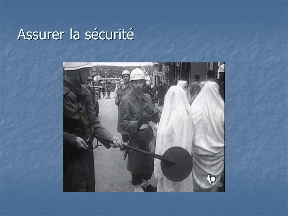 Assurer la sécurité