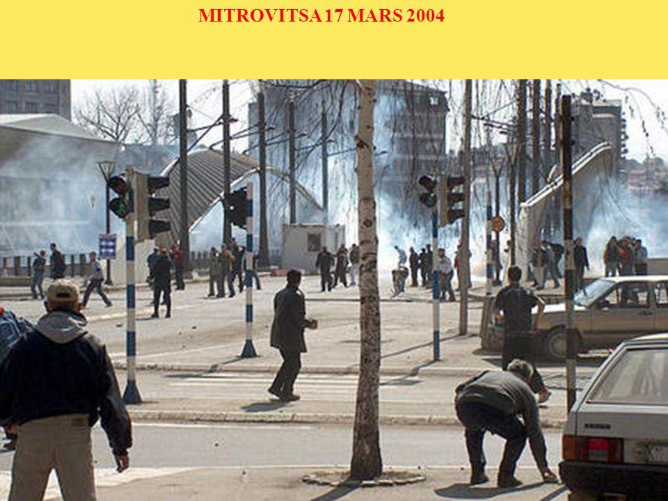 MITROVITSA 17 MARS 2004 Vous êtes ici Accueil Informations internationales Europe Serbie AccueilInformations internationalesEuropeSerbie
