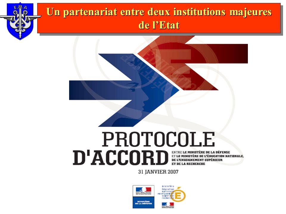 Un partenariat entre deux institutions majeures de lEtat