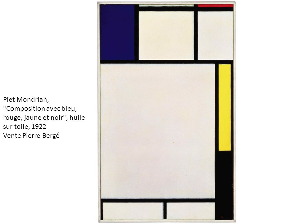 Mondrian, Piet New York City 1941-42 Oil on canvas 119 x 114 cm (46 7/8 x 44 7/8 in) Musee national d art moderne, Centre Georges Pompidou, Paris