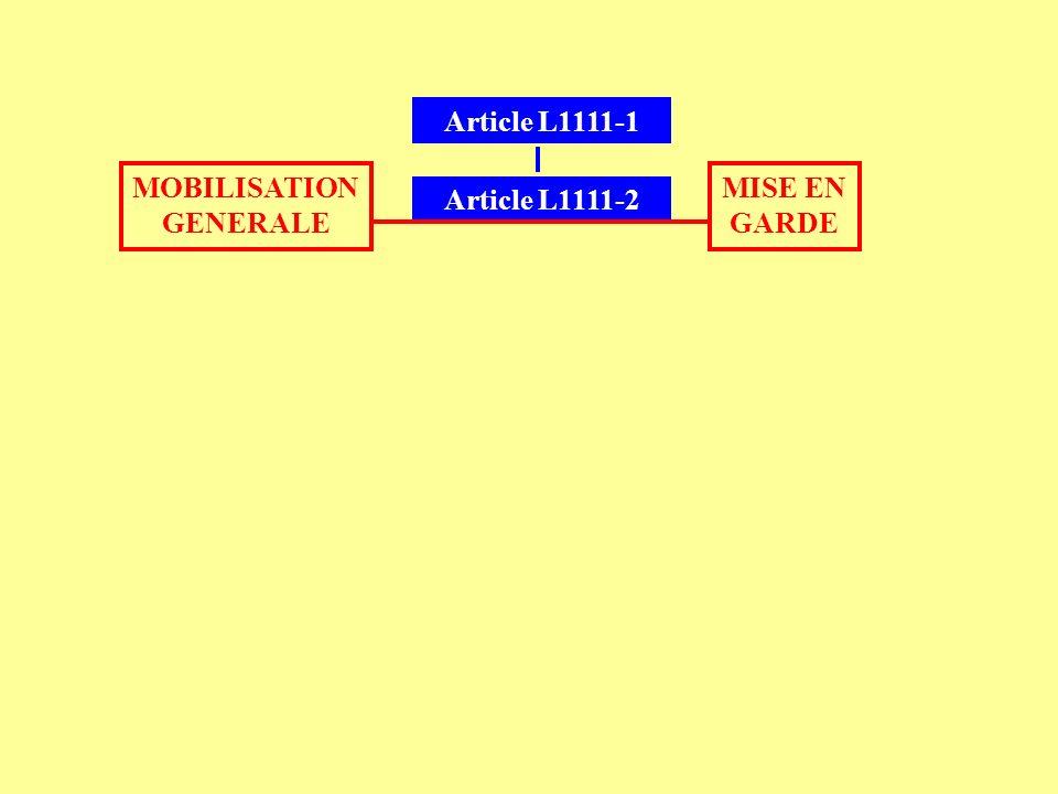 Le pouvoir exécutif, dans l exercice de ses attributions constitutionnelles, prend les mesures nécessaires pour atteindre les objectifs définis à l article L.
