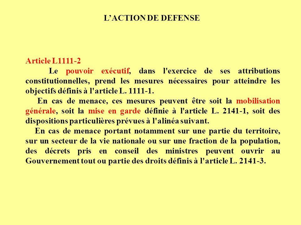 Article L2141-3 Les décrets prévus à l article L.