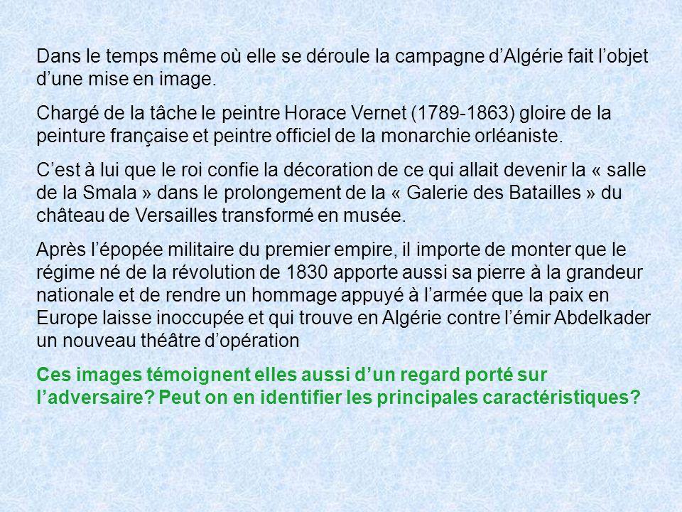 Dans le temps même où elle se déroule la campagne dAlgérie fait lobjet dune mise en image.