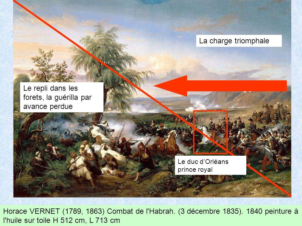 Horace VERNET (1789, 1863) Combat de l Habrah.(3 décembre 1835).