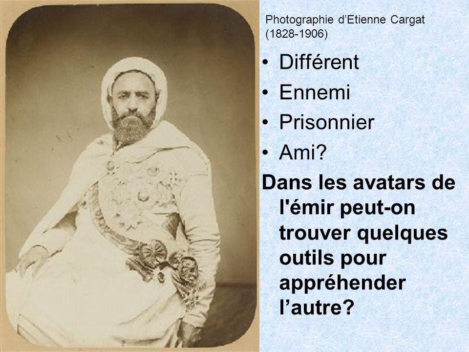 Cinq images DAumaleBugeaud Lamoricière Trois personnes Le duc dAumale disparait pour être remplacé par Bugeaud, ce qui est inexact et par Lamoricière qui reçut Abdelkader mais fit appeler le duc dAumale, Gouverneur Général.