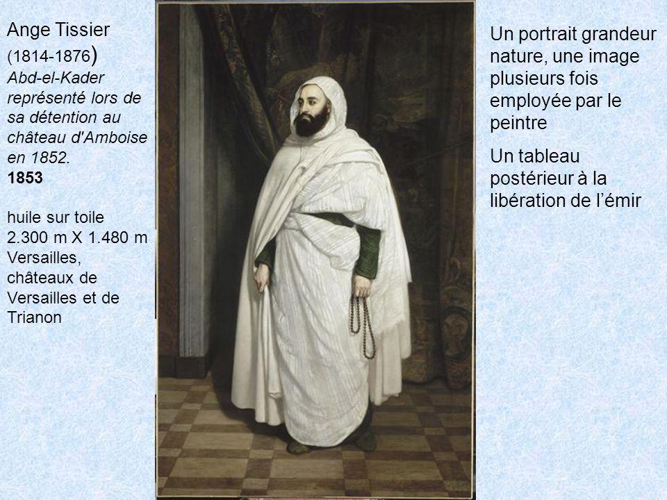 Ange Tissier (1814-1876 ) Abd-el-Kader représenté lors de sa détention au château d Amboise en 1852.