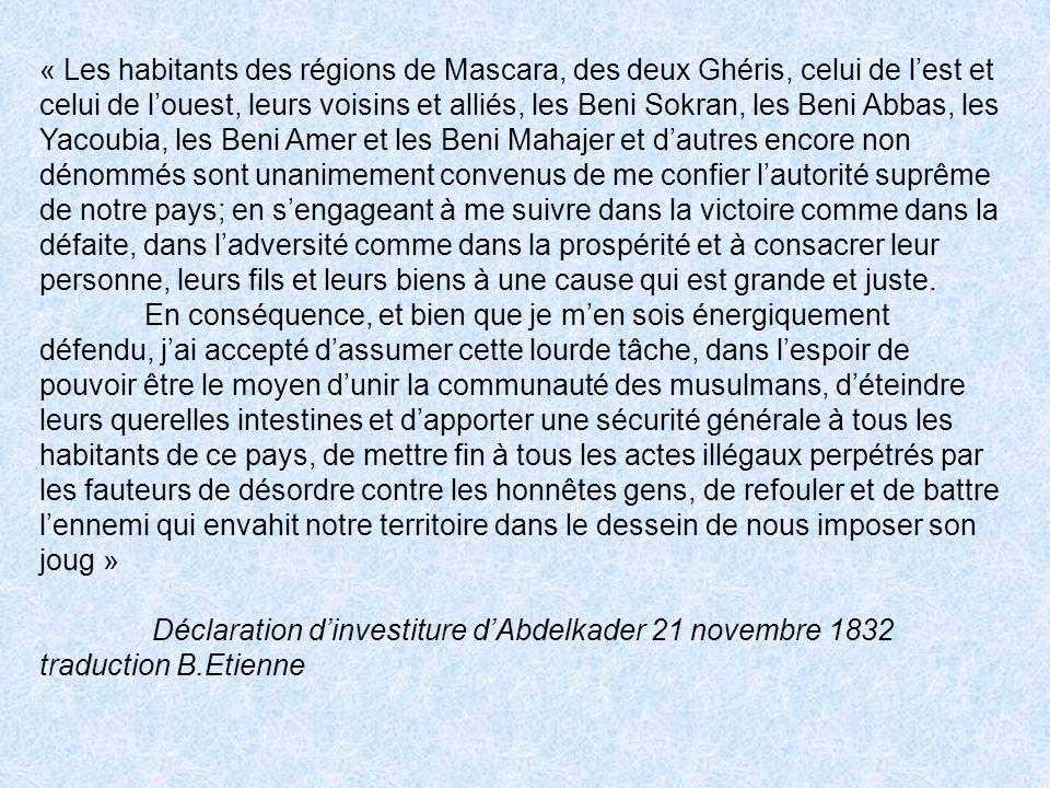 Louange à Dieu seul .A sa grandeur le très estimé Louis Antoine Octave Pavy, évêque dAlger.