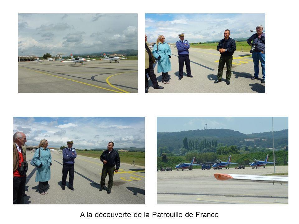 A la découverte de la Patrouille de France