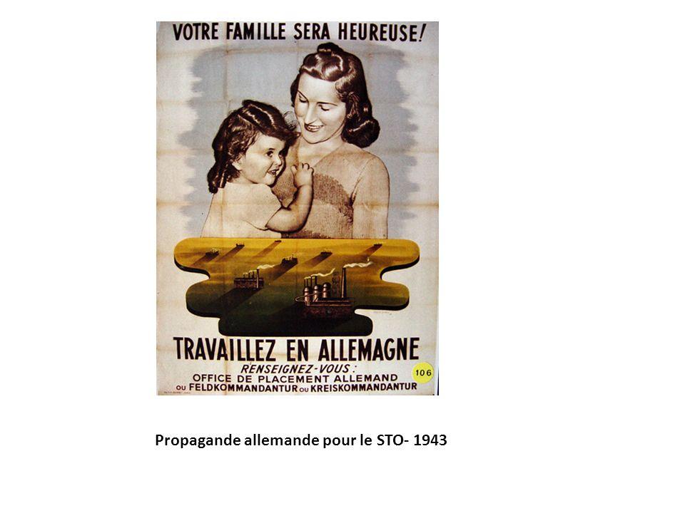 Propagande allemande pour le STO- 1943