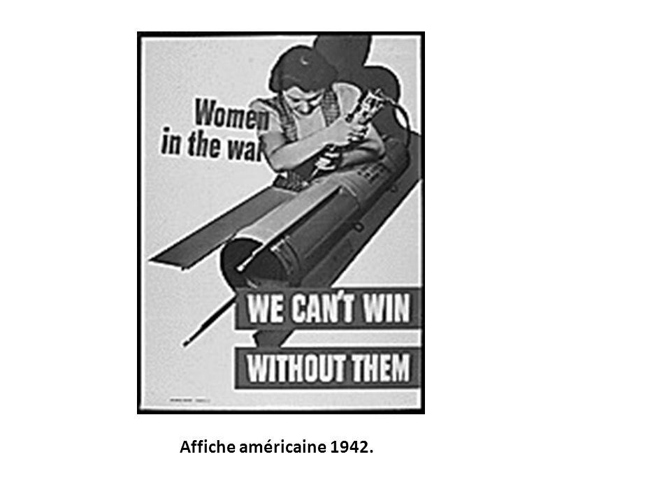 Affiche américaine 1942.