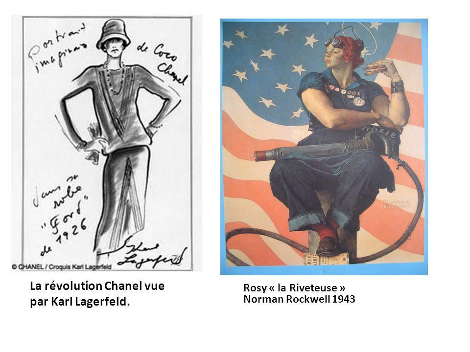 La révolution Chanel vue par Karl Lagerfeld. Rosy « la Riveteuse » Norman Rockwell 1943