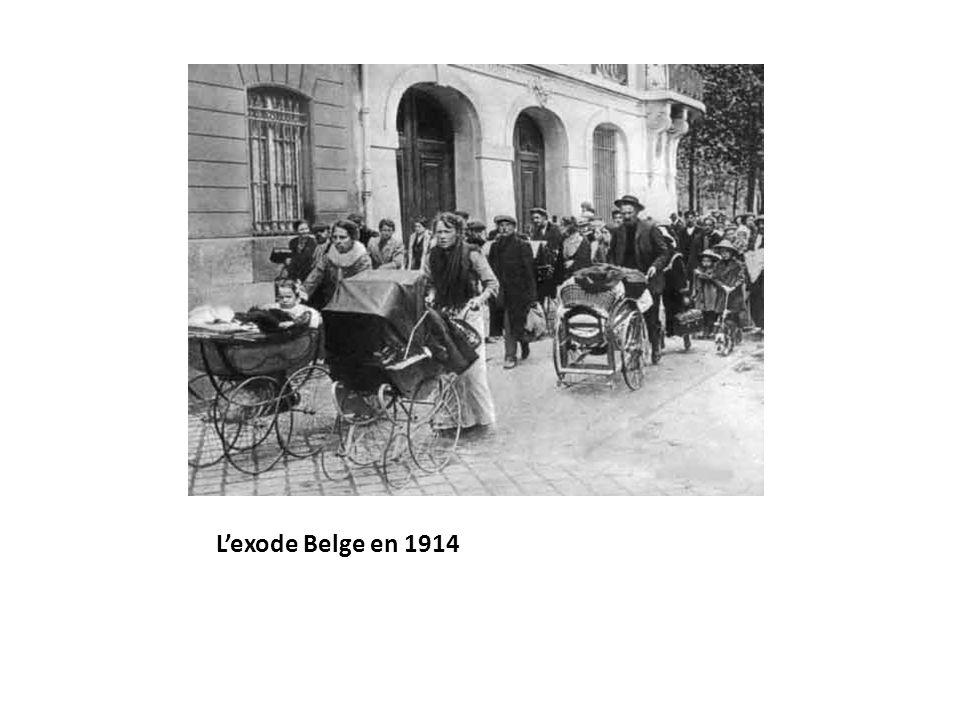 Lexode Belge en 1914