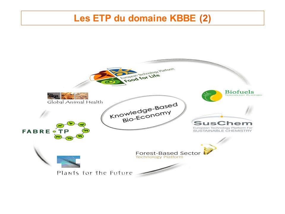 Les ETP du domaine KBBE (2)