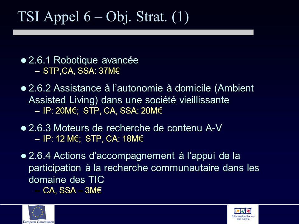 TSI Appel 6 – Obj. Strat.