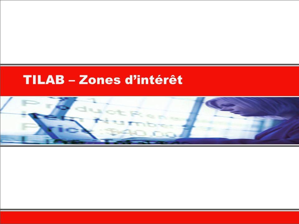 TILAB – Zones dintérêt