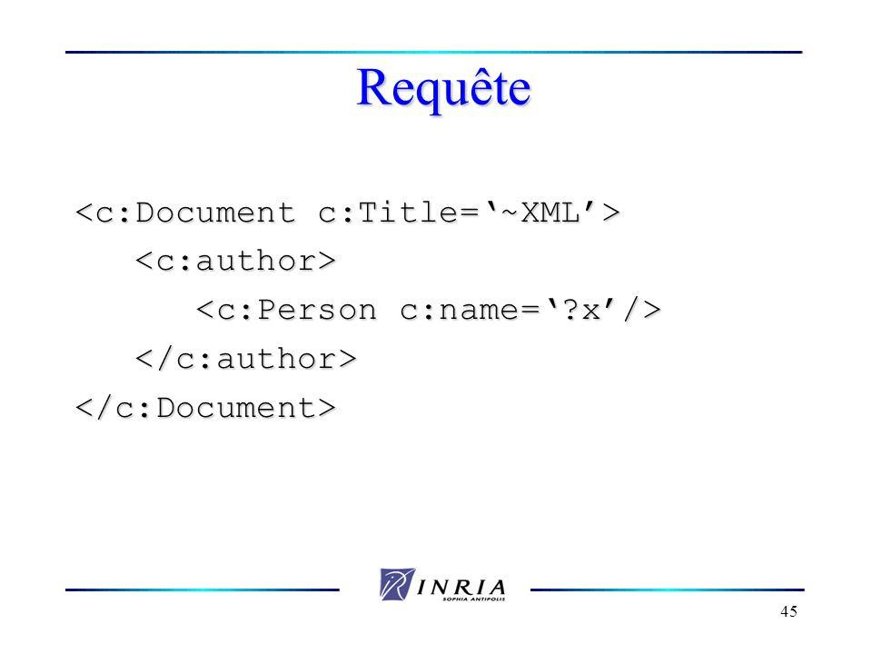 45 Requête </c:Document>
