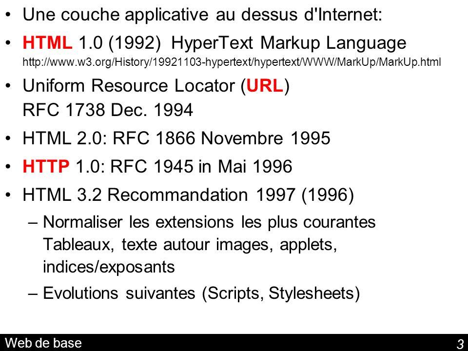 44 Les datatypes et syntaxe XML Syntaxe XML pour les datatypes en RDF true 1975-07-31 fr (…) true 1975-07-31 (…)