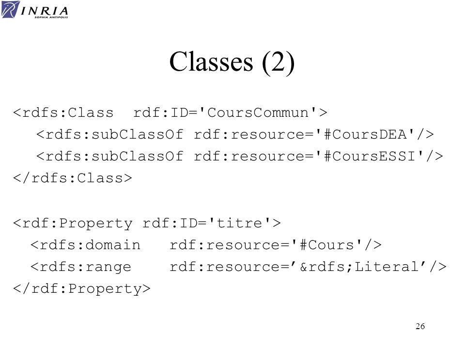 26 Classes (2)