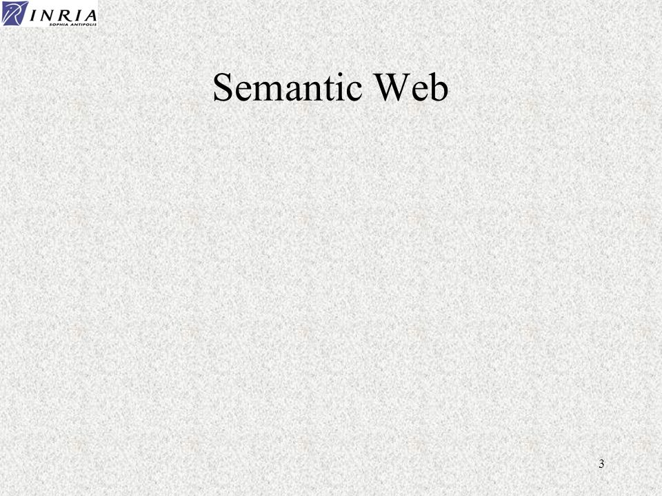 3 Semantic Web