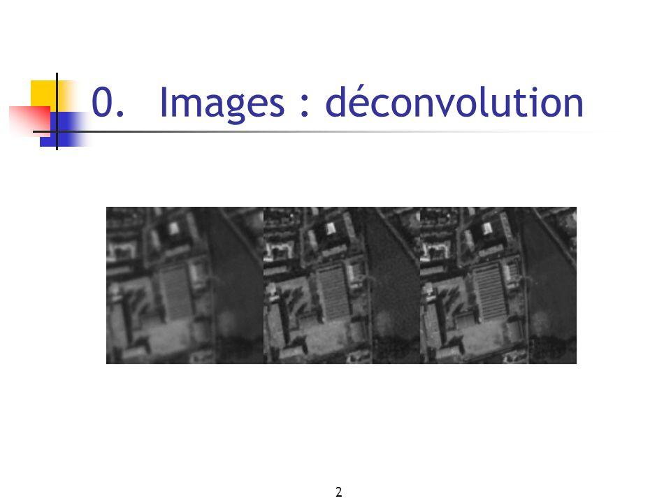2 0. Images : déconvolution