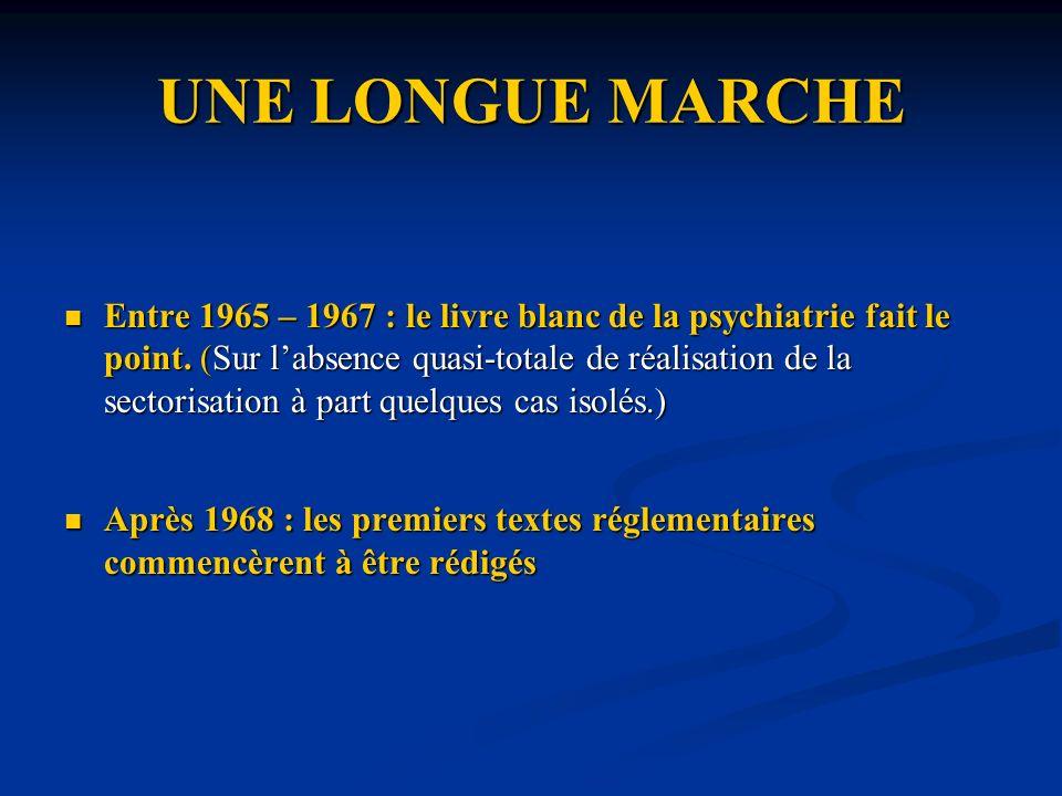 La fin des directions médicales La fonction du médecin directeur était, en règle générale, applicable à tous les hôpitaux psychiatriques.