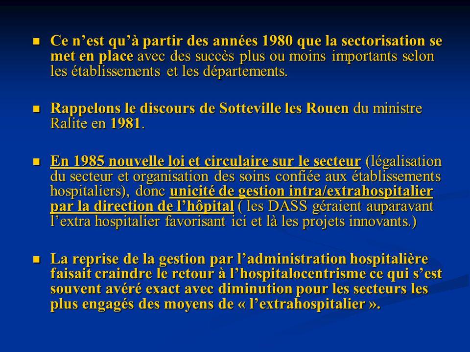 Larrêté du 14 Mars 1986 concerne les équipements et services de lutte contre les maladies mentales avec ou non possibilité dhospitalisation.