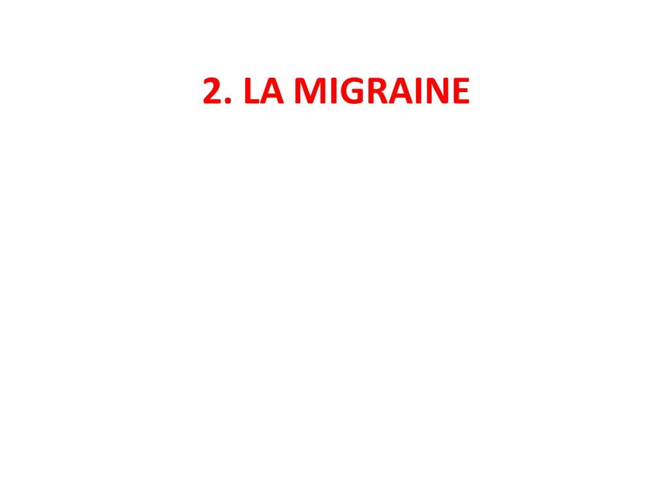 Demandes des professionnels Altlas of headache disrders and resources in the World 2011