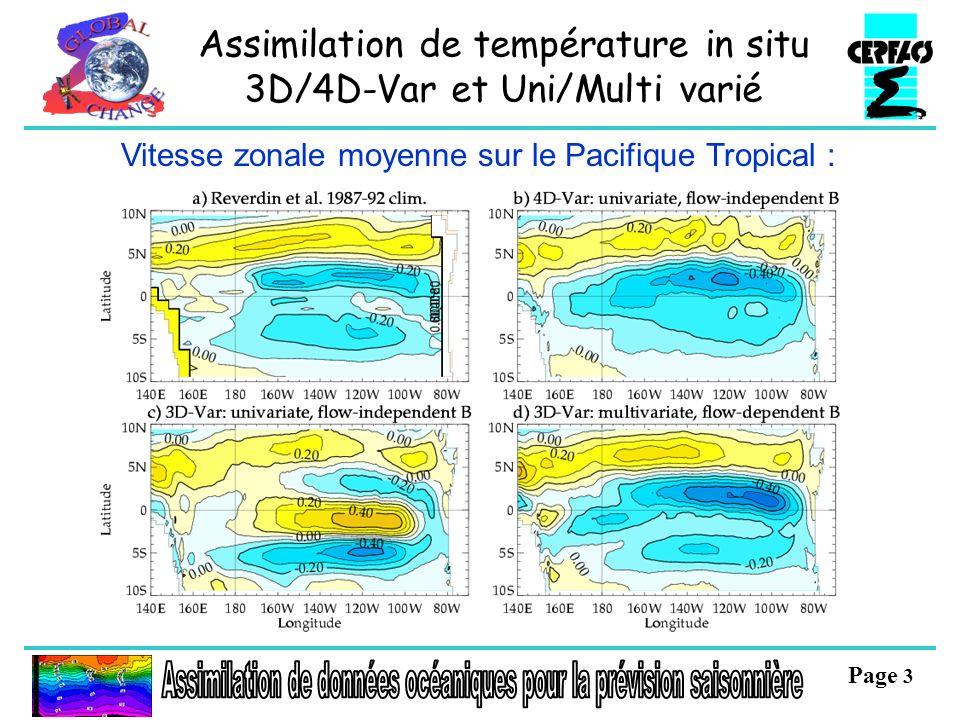 Page 4 Prévision de la température dhiver sur lEurope à 3 mois déchéance Prévision dune anomalie positive (1/2 plus chaudes) Cost : coût de la mesure préventive Loss : perte en cas danomalie chaude Value : pourcentage de gain par rapport à une prévision parfaite.