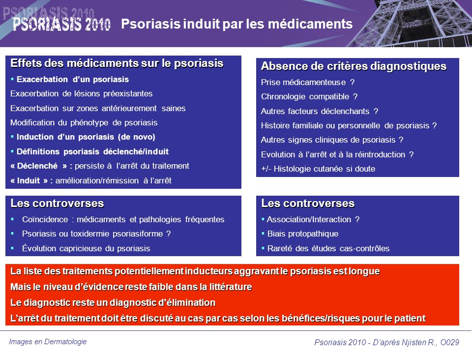 Images en Dermatologie Psoriasis 2010-Daprès Gordon K et al.