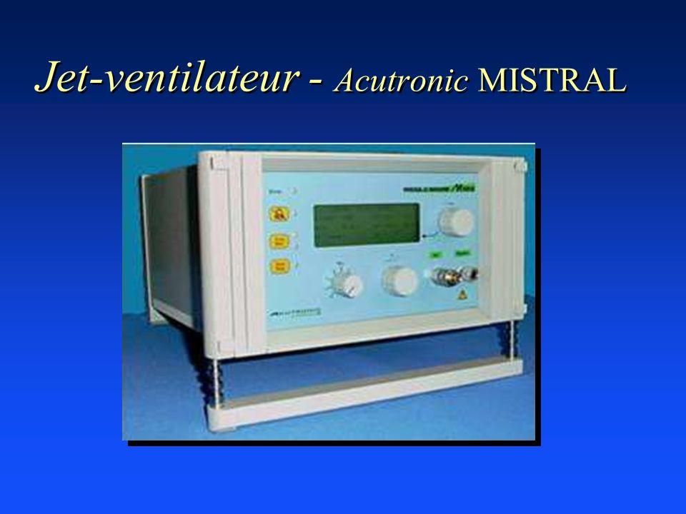Jet-ventilateur - Acutronic MISTRAL