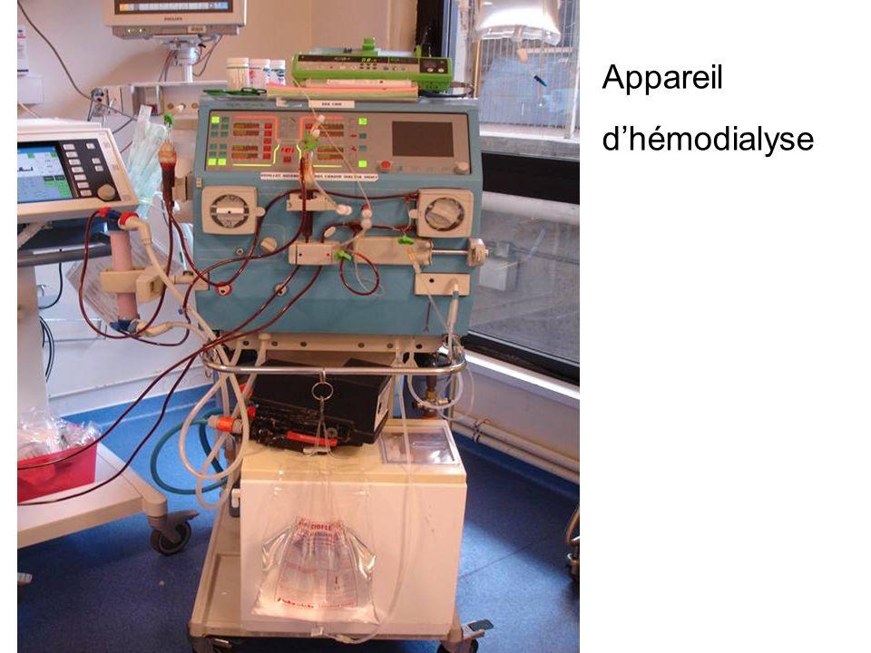 Appareil dhémodialyse