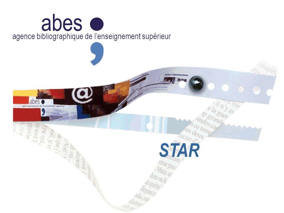 abes agence bibliographique de lenseignement supérieur STAR