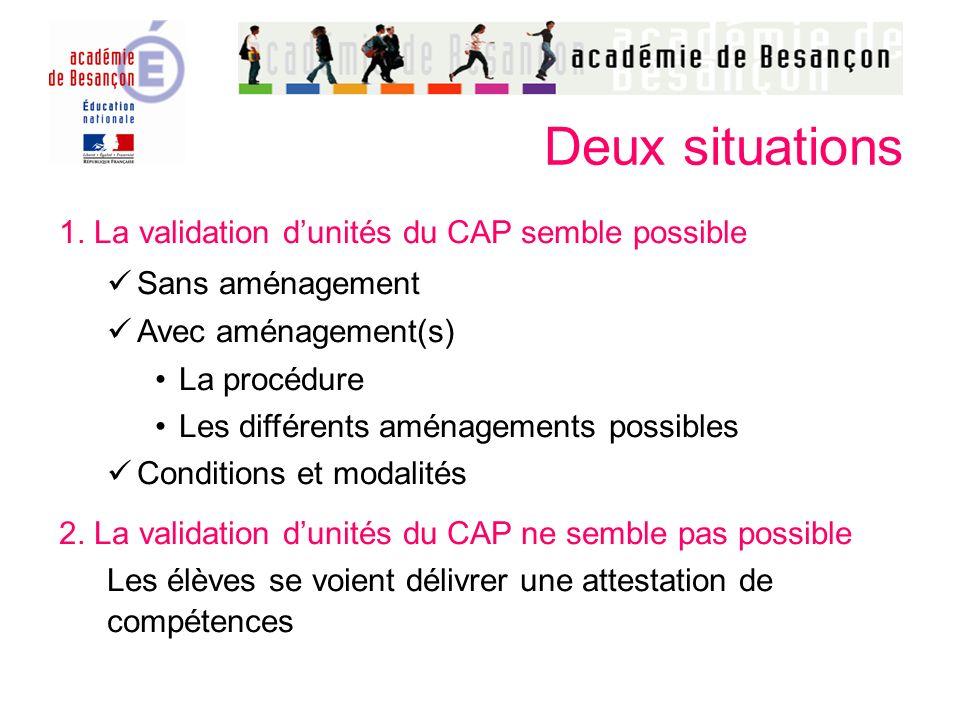 Avec aménagement(s) « Des aménagements rendus nécessaires par leur situation peuvent être accordés aux candidats en situation de handicap ».