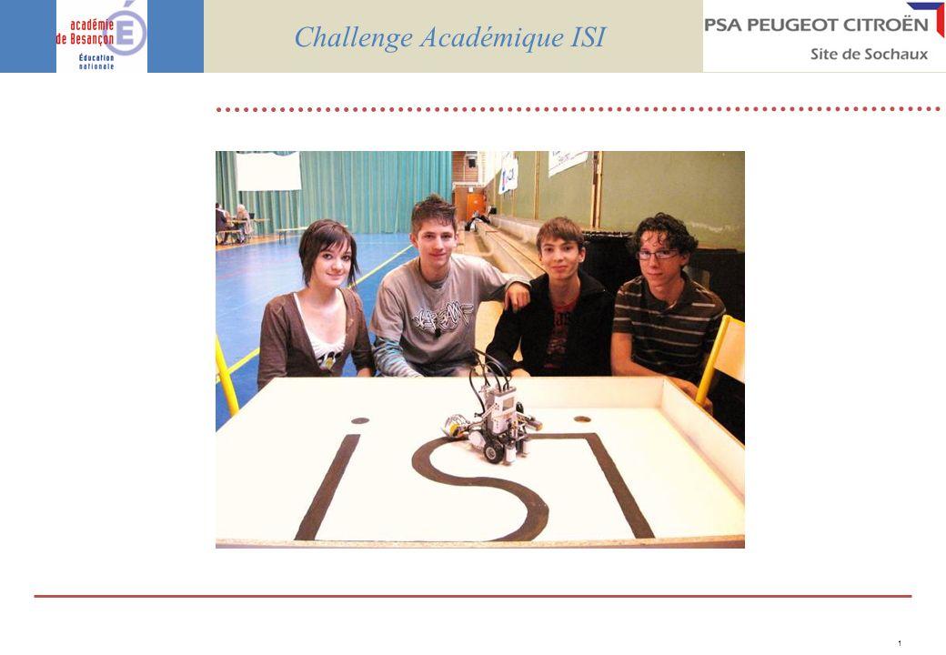 1 Challenge Académique ISI