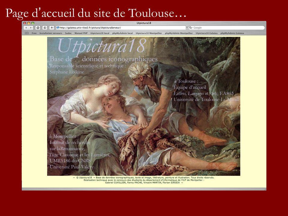 Page d accueil du site de Toulouse …