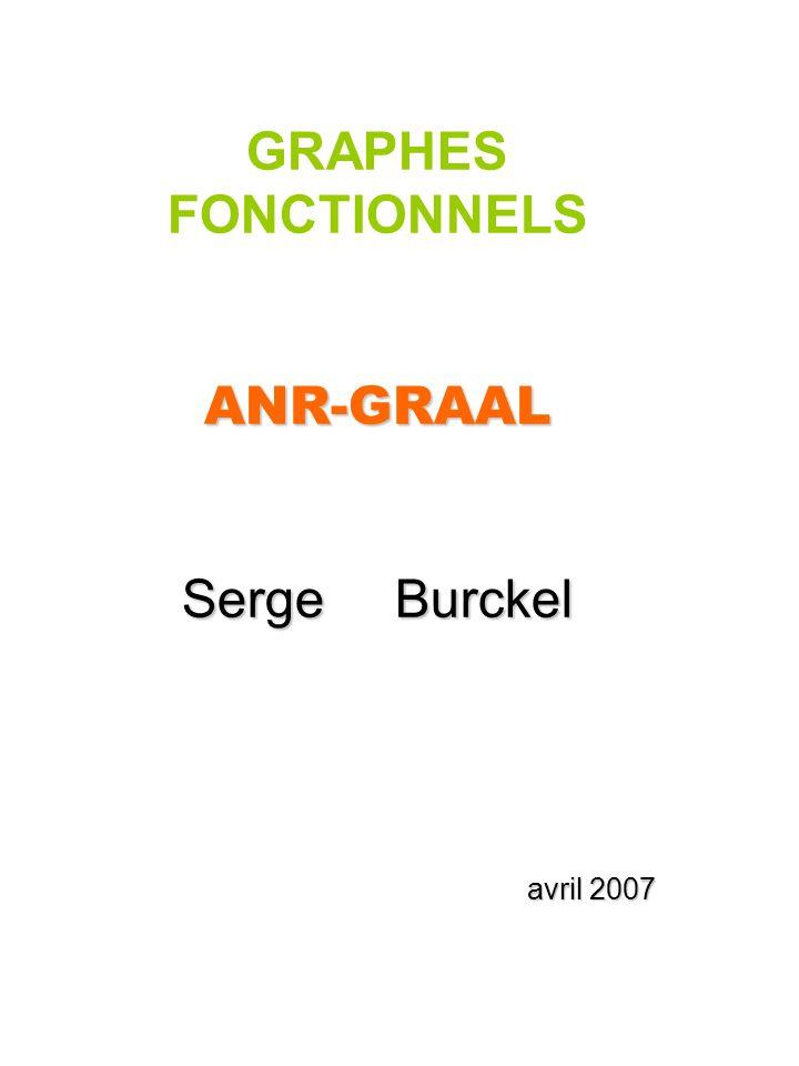 GRAPHES FONCTIONNELSANR-GRAAL Serge Burckel avril 2007