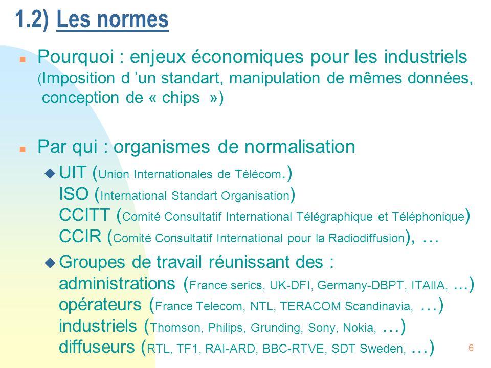 7 n Comment : u analyse du besoin u appels d offres => compétitions entre industriels et laboratoires u analyse des résultats par les commissions => sélection + décision u Ex.