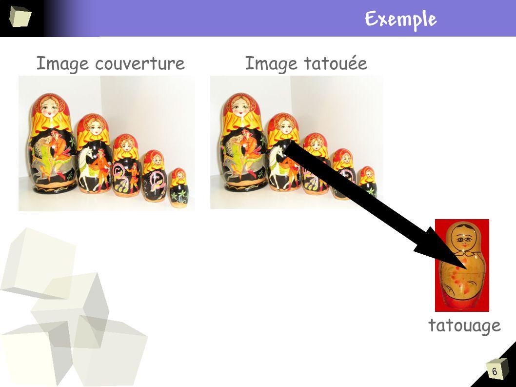 17 Résistance à des transformations bienveillantes Découpage, Rotation, Changement déchelle, Apport de la géométrie discrète.
