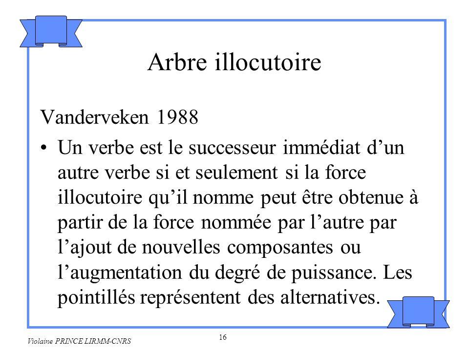 17 Violaine PRINCE LIRMM-CNRS