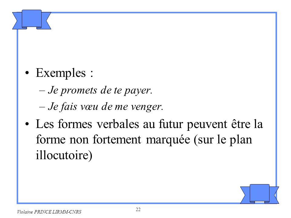 23 Violaine PRINCE LIRMM-CNRS