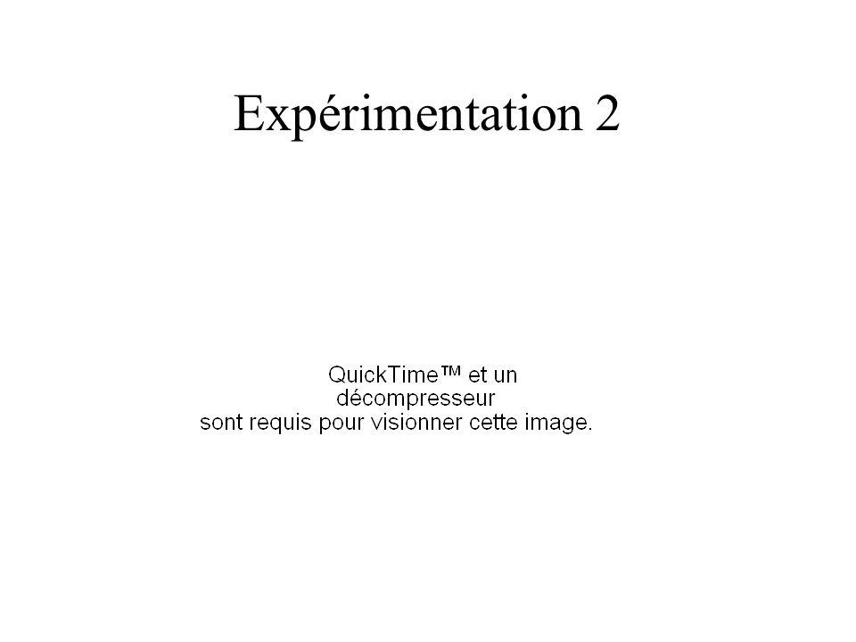 Expérimentation 2