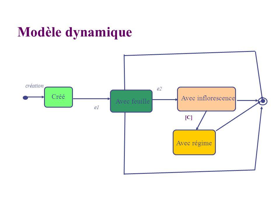 Avec inflorescence création e1 Avec régime e2 [C] Créé Avec feuille Modèle dynamique